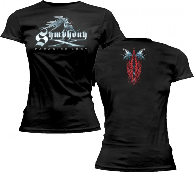 Symphony X - Angel Paradise Lost (Women's) (Black)