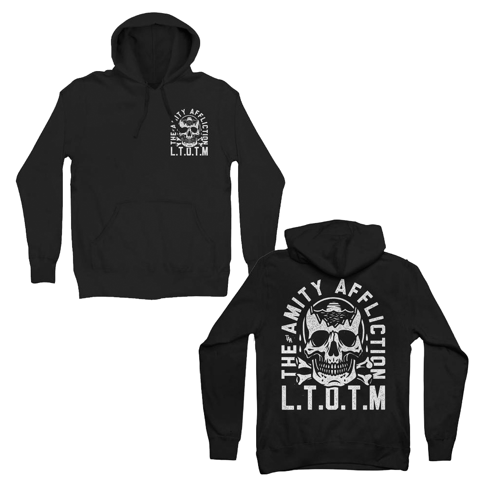 The Amity Affliction -  LTOTM Skull (A) (Hoodie)