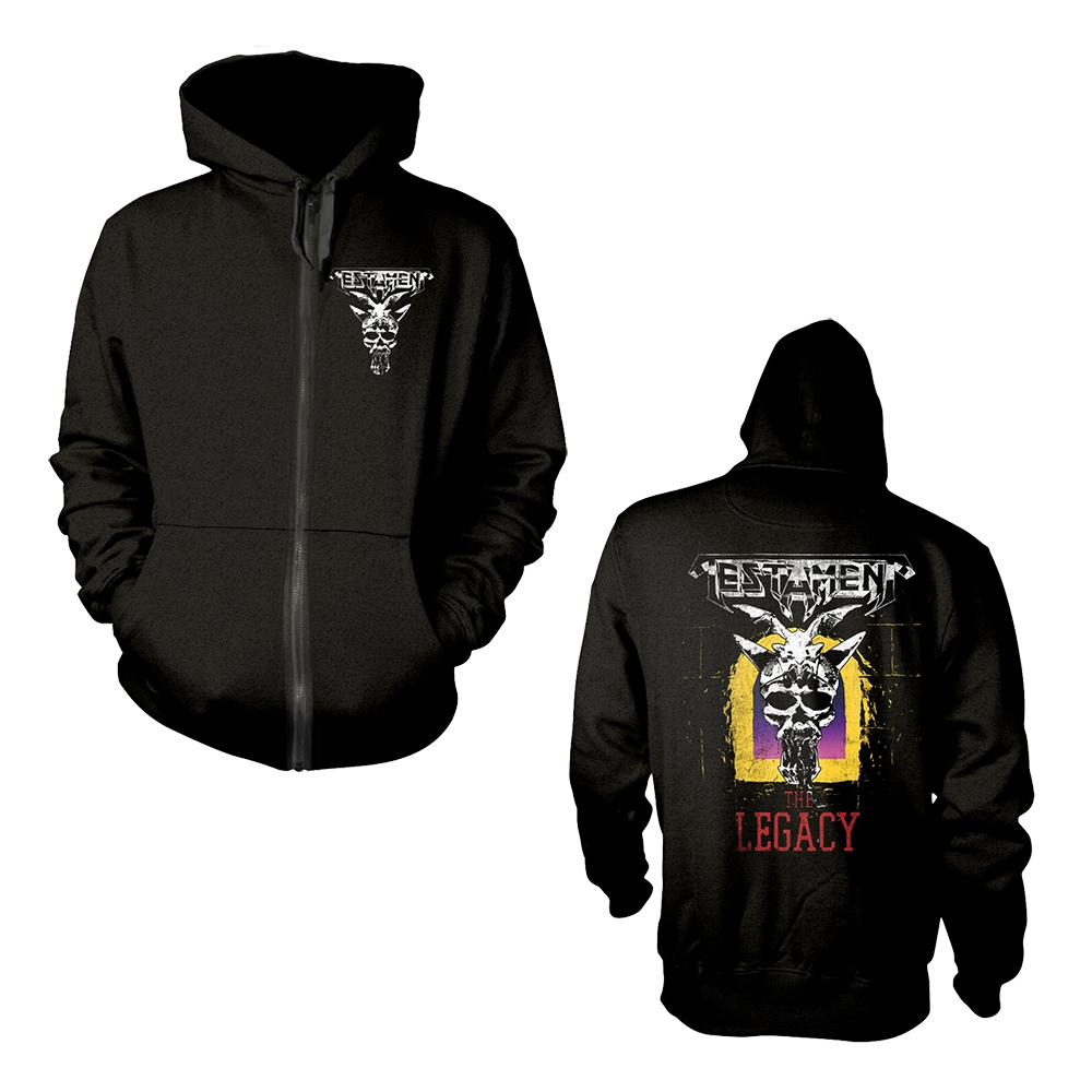 Testament - The Legacy (Zip Hoodie)