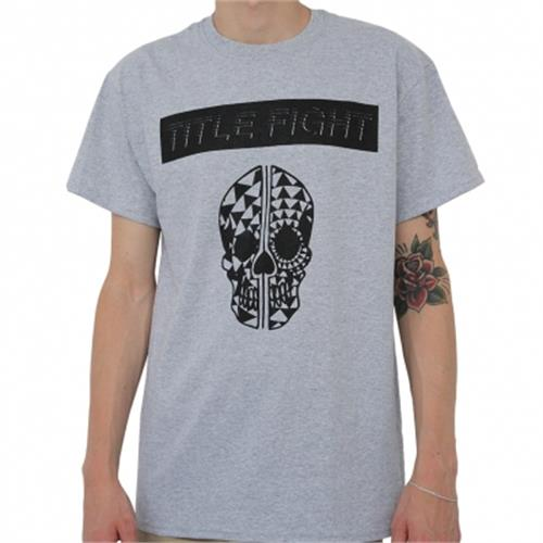 Title Fight - Skull (Sports Grey)