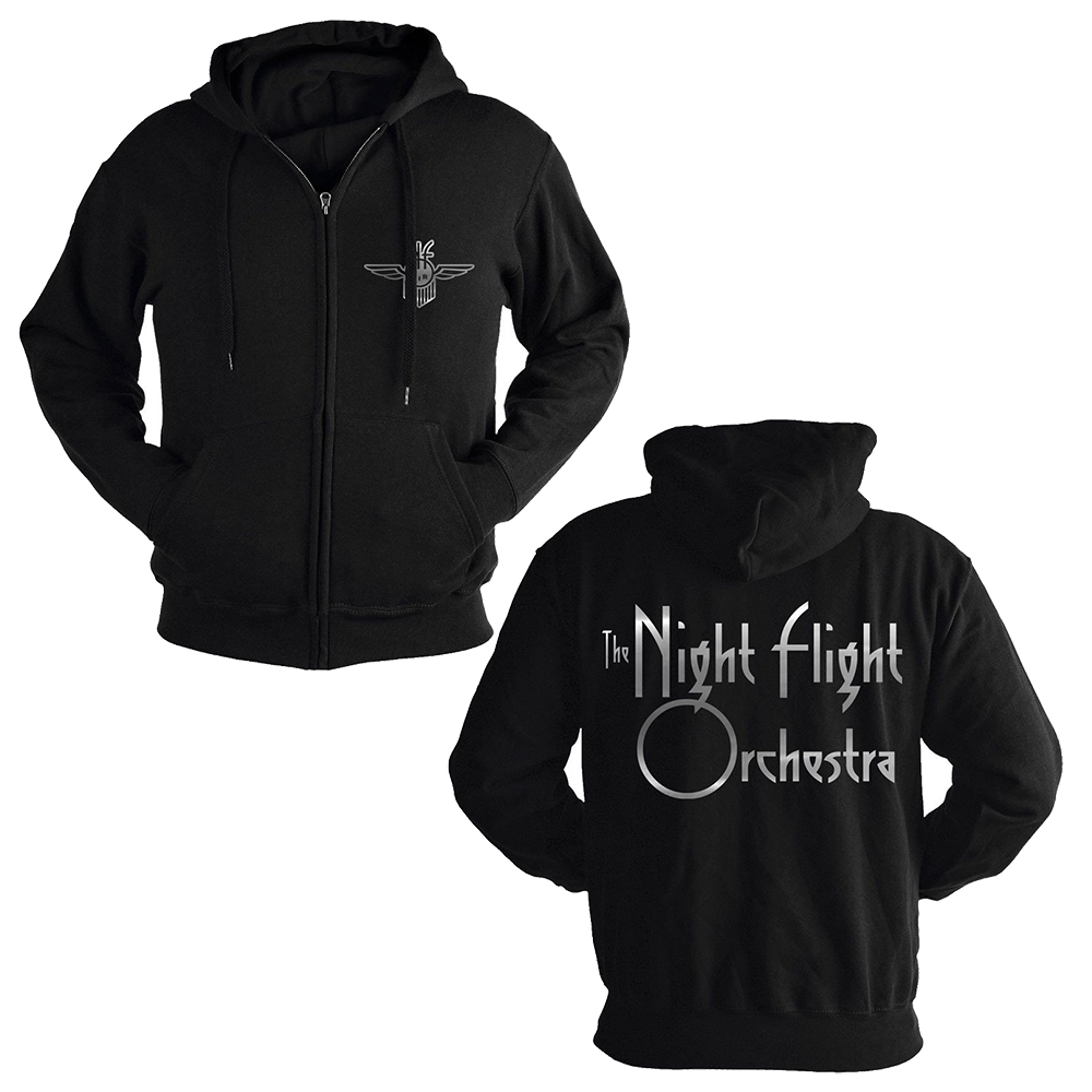 The Night Flight Orchestra - Logo (Zip Hoodie)
