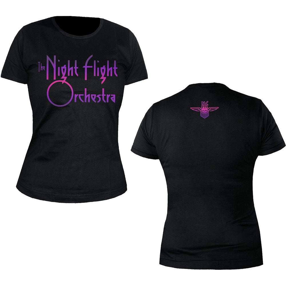 The Night Flight Orchestra - Logo (Ladies)