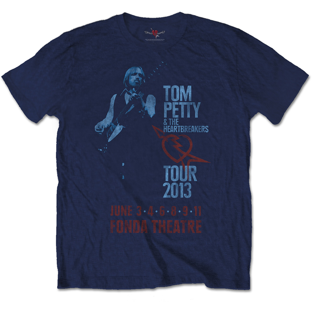 Tom Petty - Fonda Theatre (Soft Hand Inks)