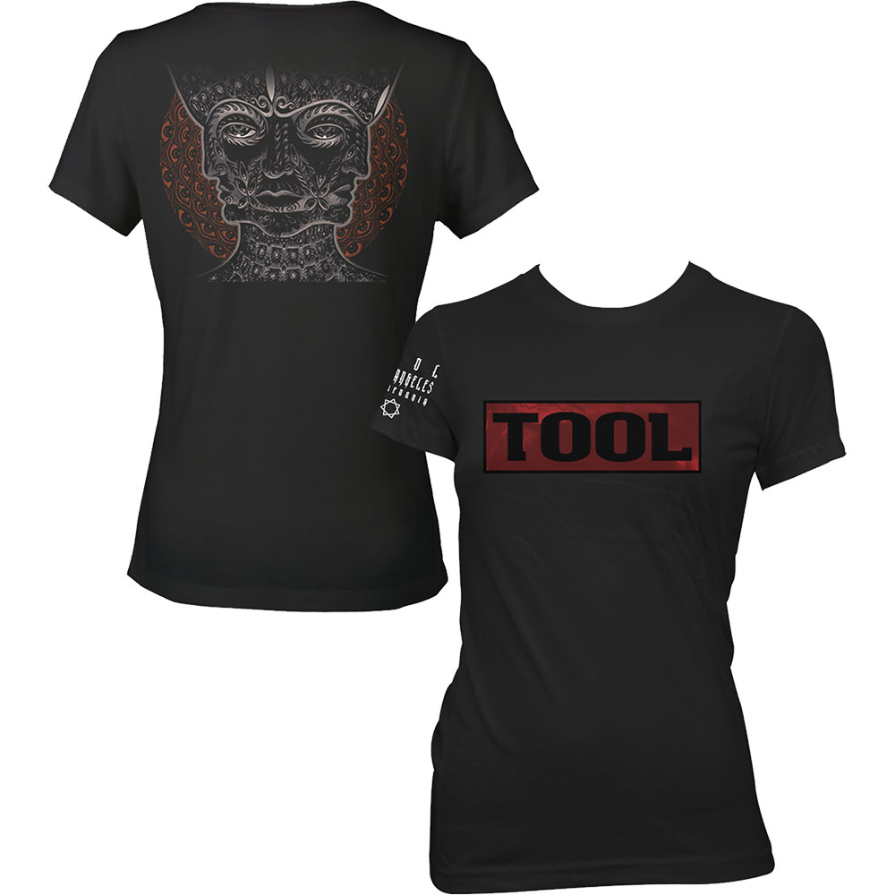 Tool - Shaded Box (Back Print) (Ladies)