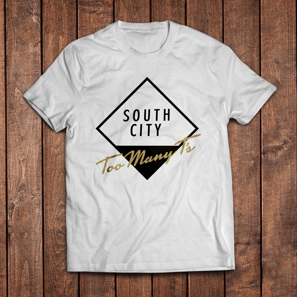 Too Many T's - South City (White)