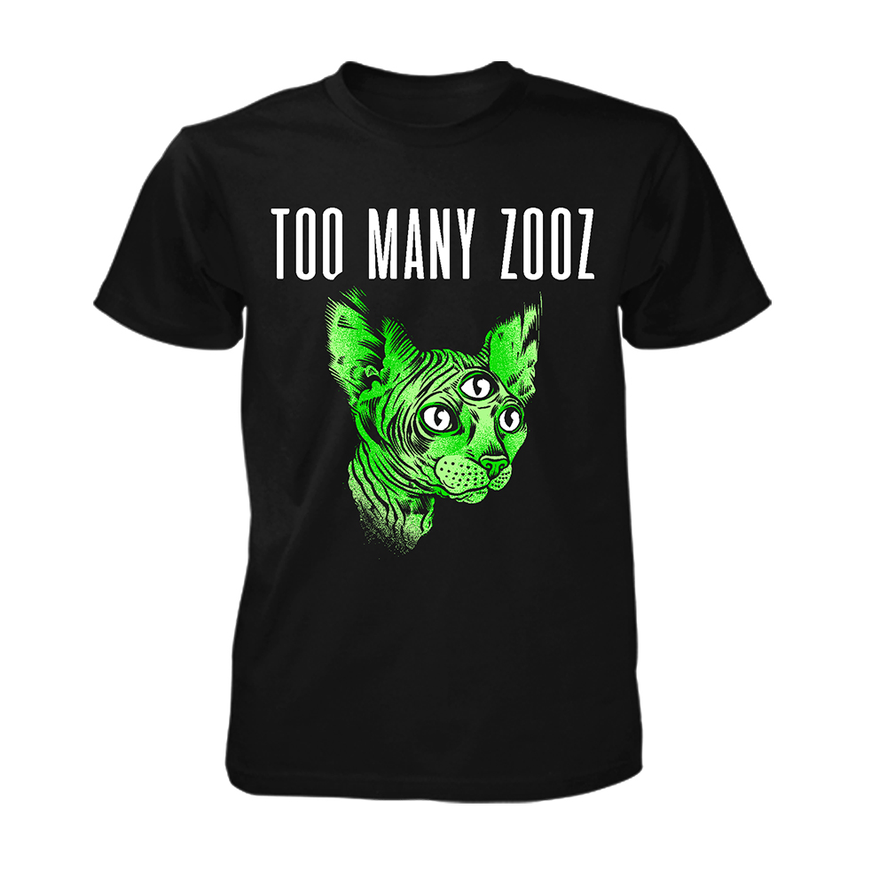 Too Many Zooz - Green Kat