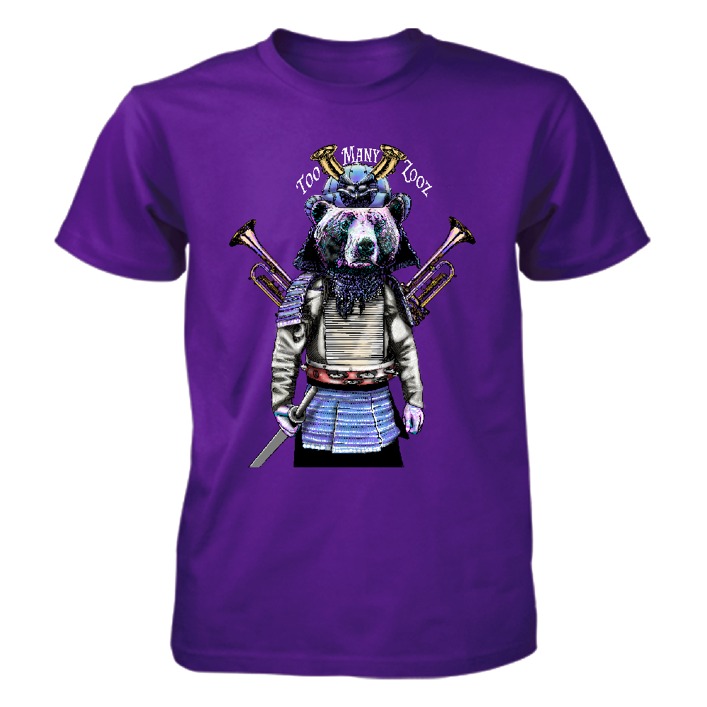 Too Many Zooz - Samurai Bear (Purple)