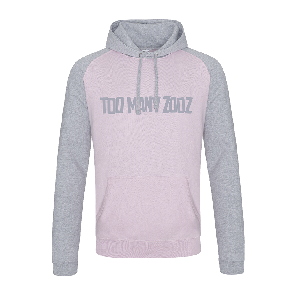 Too Many Zooz - Tres Elephant (Pink/Grey)
