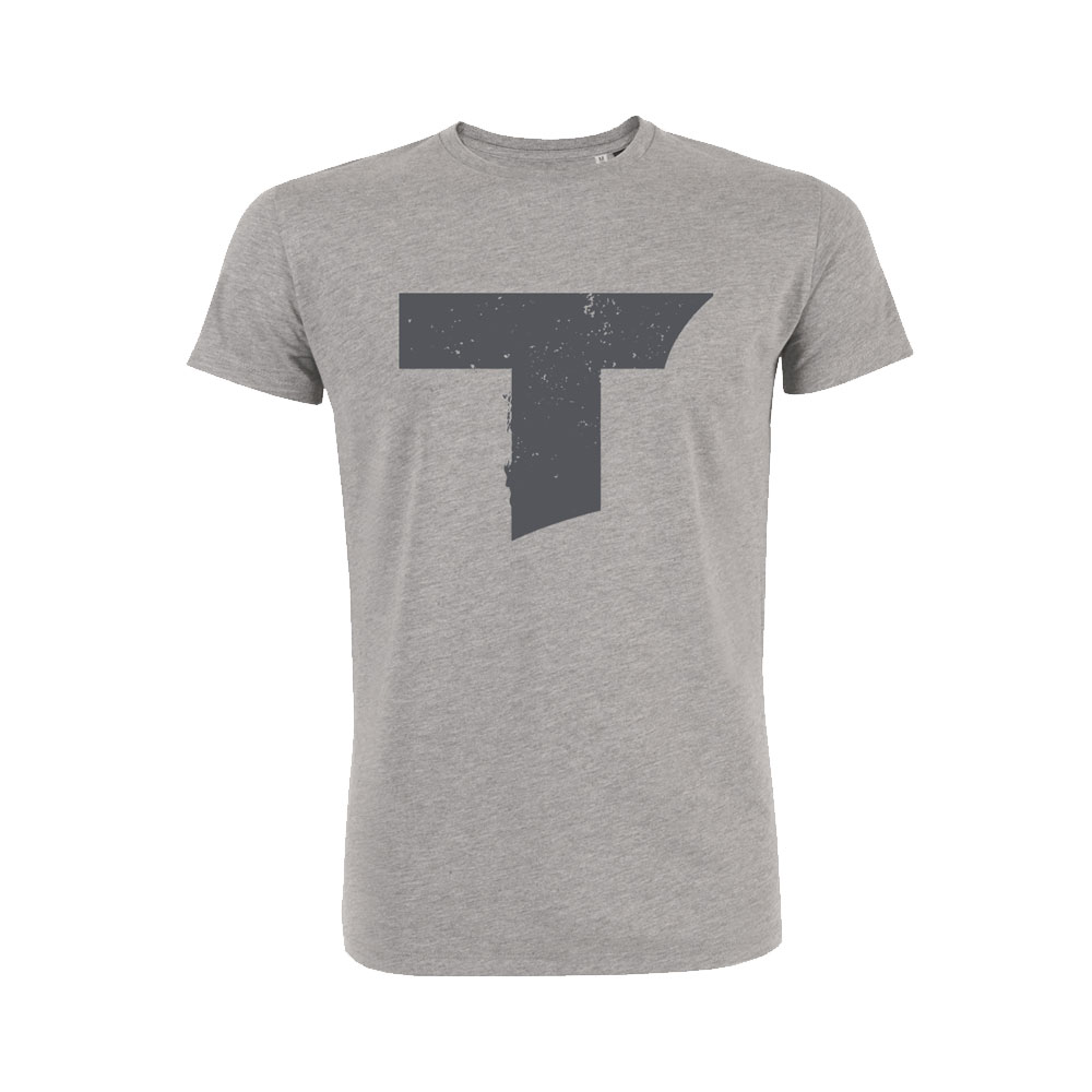 Toseland - T Logo (Heather Grey)
