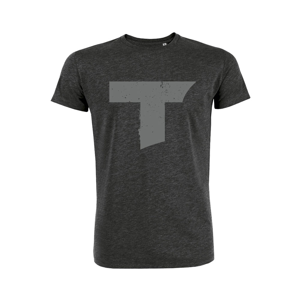 Toseland - T Logo (Dark Heather Grey)