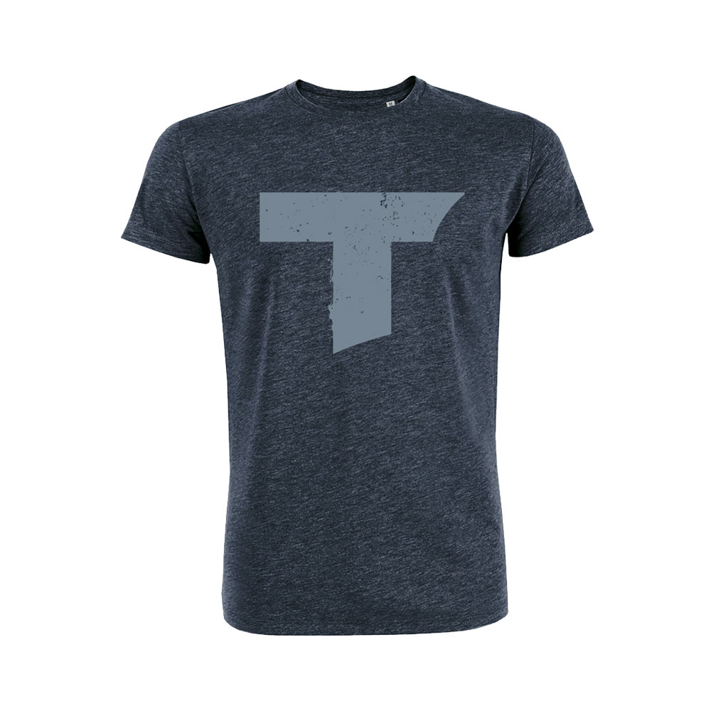 Toseland - T Logo (Dark Heather Denim)