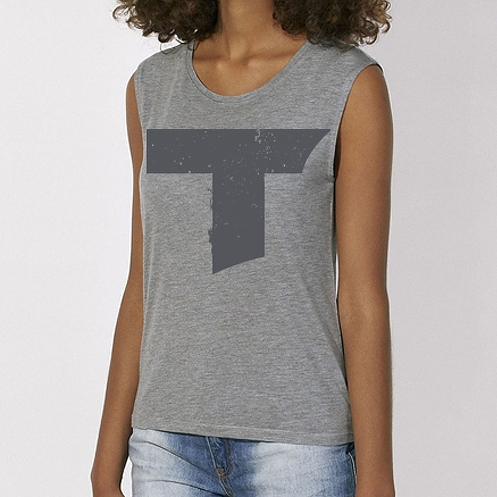 Toseland - T Logo (Mid Grey Heather)