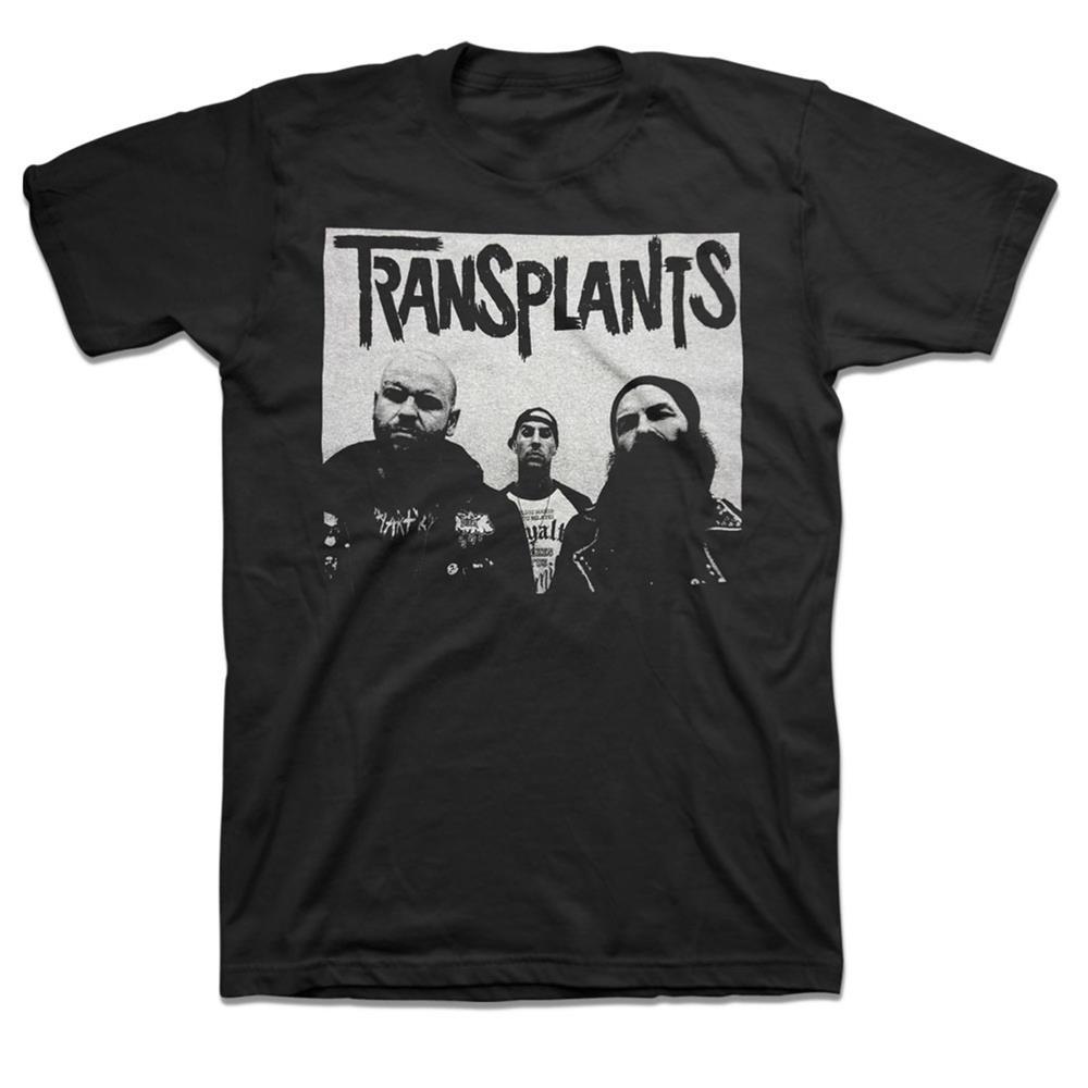 Transplants - Band Photo (Black)