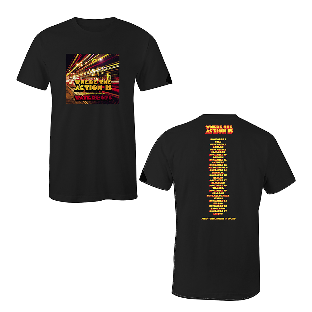 The Waterboys - European Tour T-Shirt