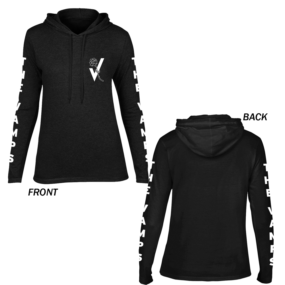 The Vamps - Rosebud (Ladies Hoodie)