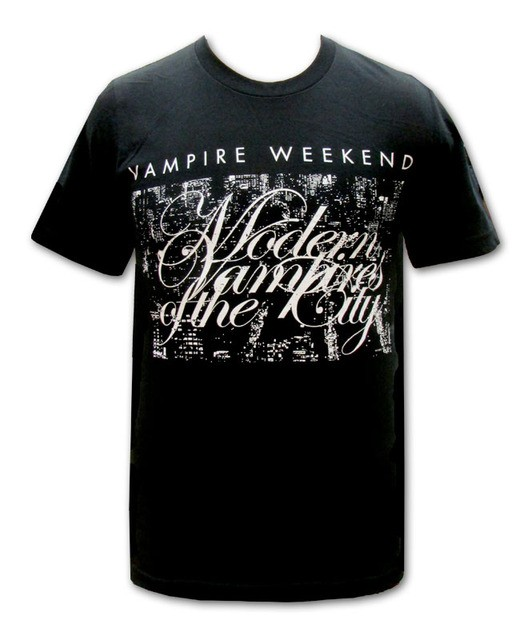 Vampire Weekend - Cityscape (Black)