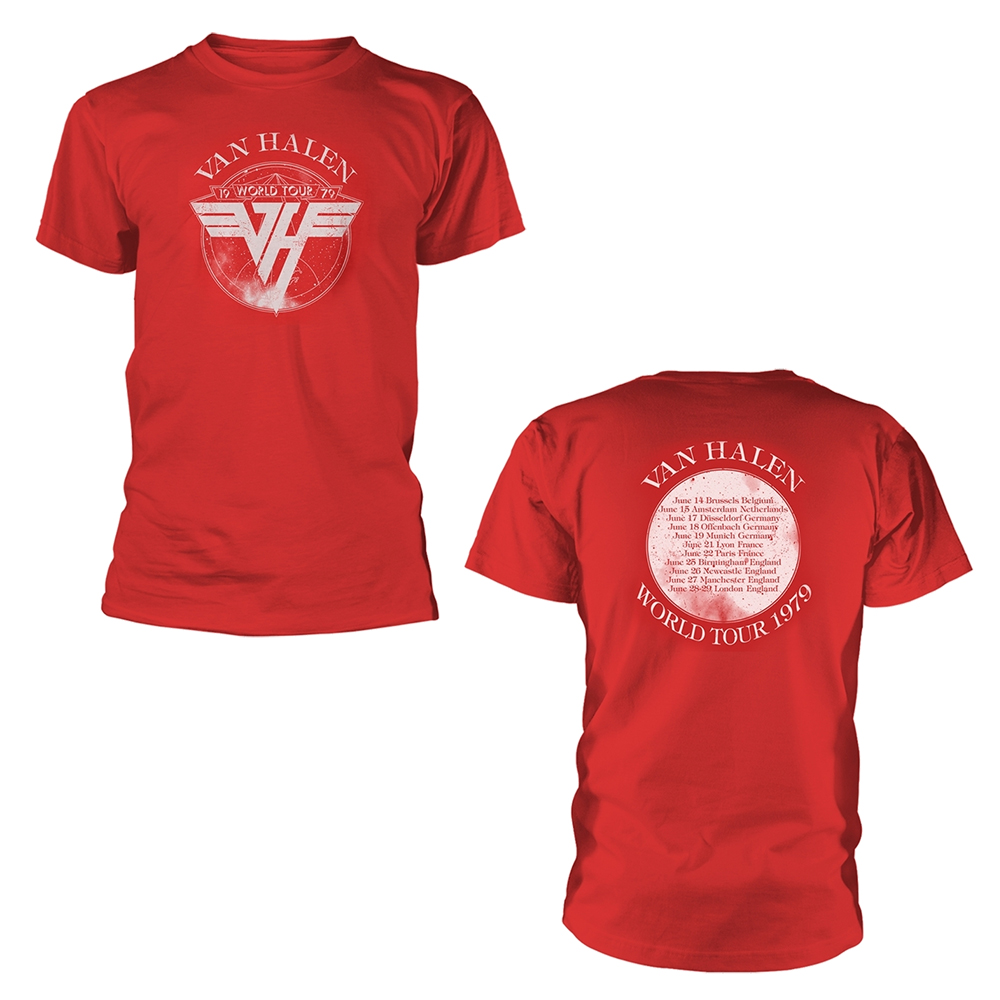 Van Halen - 1979 Tour (Red)