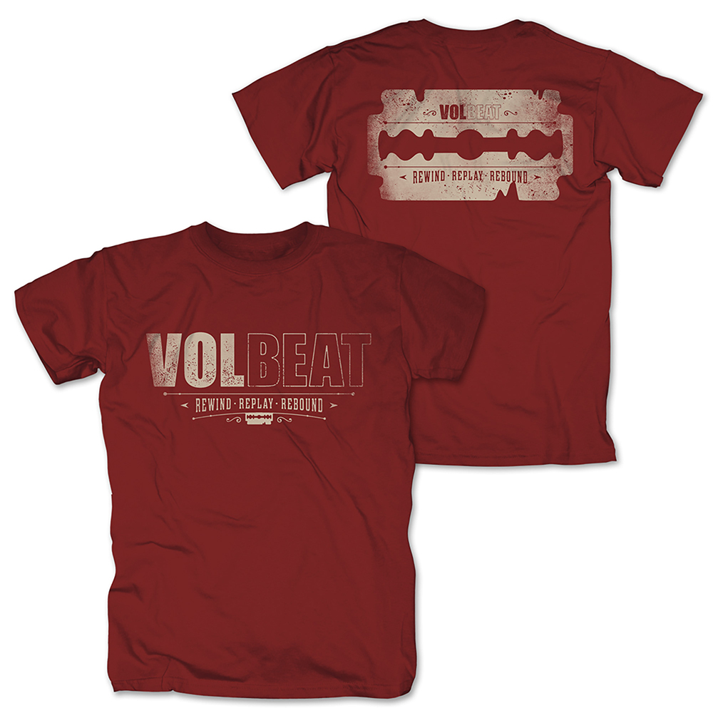 Volbeat - Distressed Logo (Red)