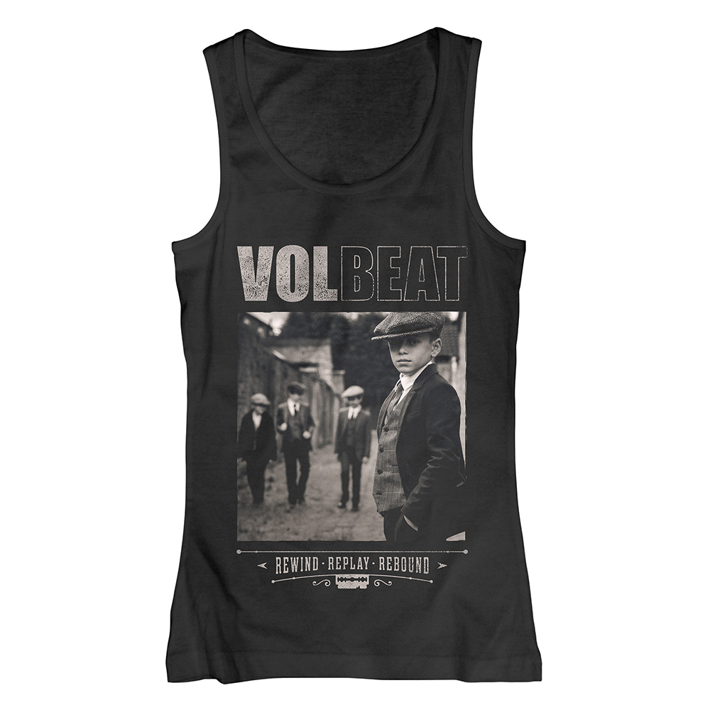 Volbeat - Rewind Replay Rebound Cover (Ladies Tank Top)