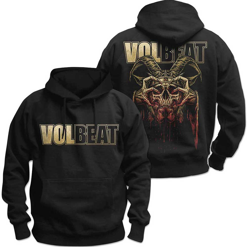 Volbeat - Bleeding Crown Skull (Back Print)