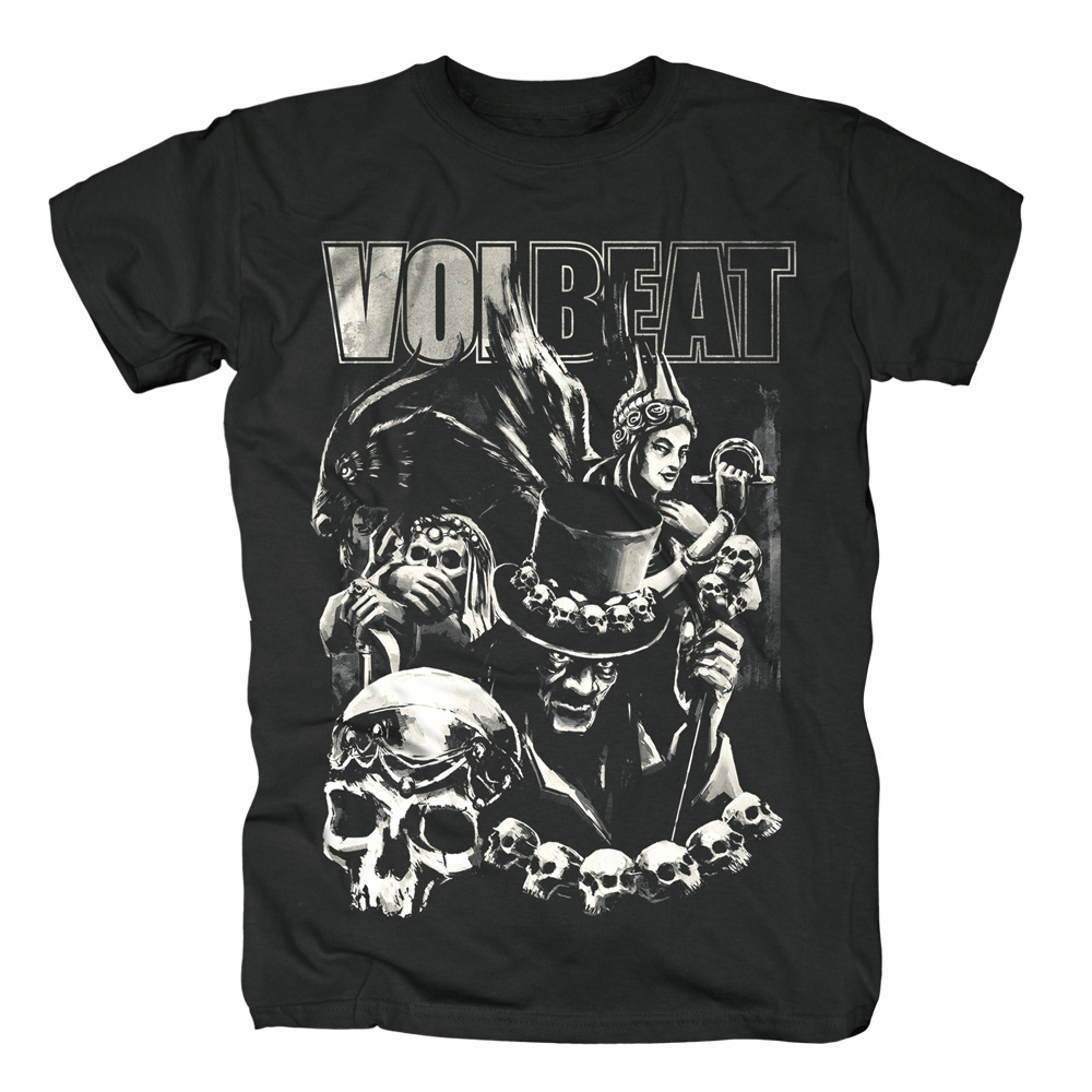 Volbeat - Black Collage (Black)