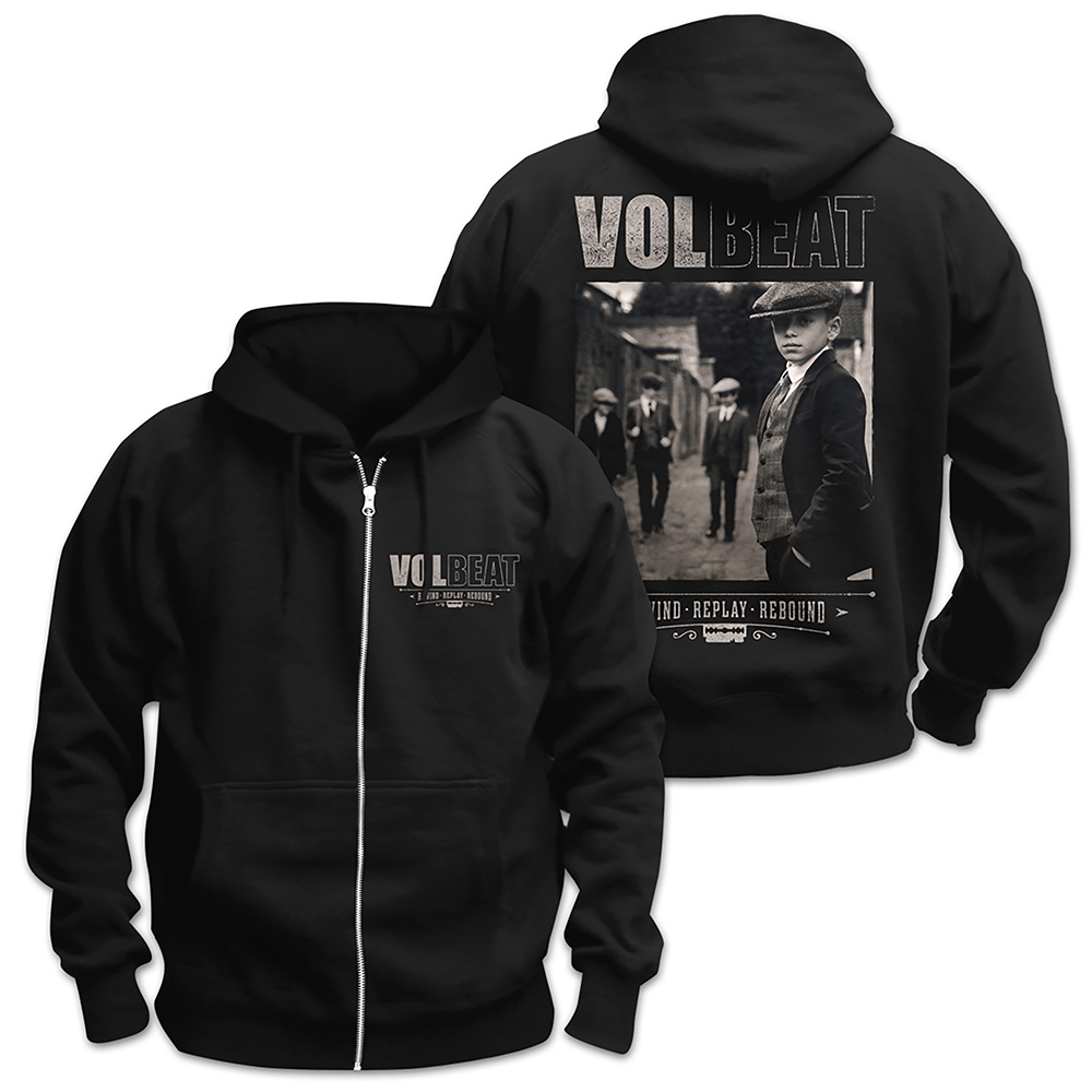 Volbeat - Rewind Replay Rebound Cover (Zip Hoodie)
