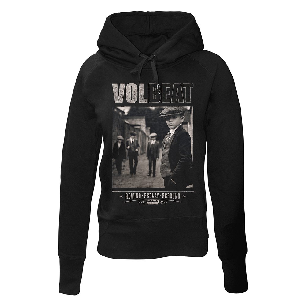 Volbeat - Rewind Replay Rebound Cover (Ladies Hoodie)