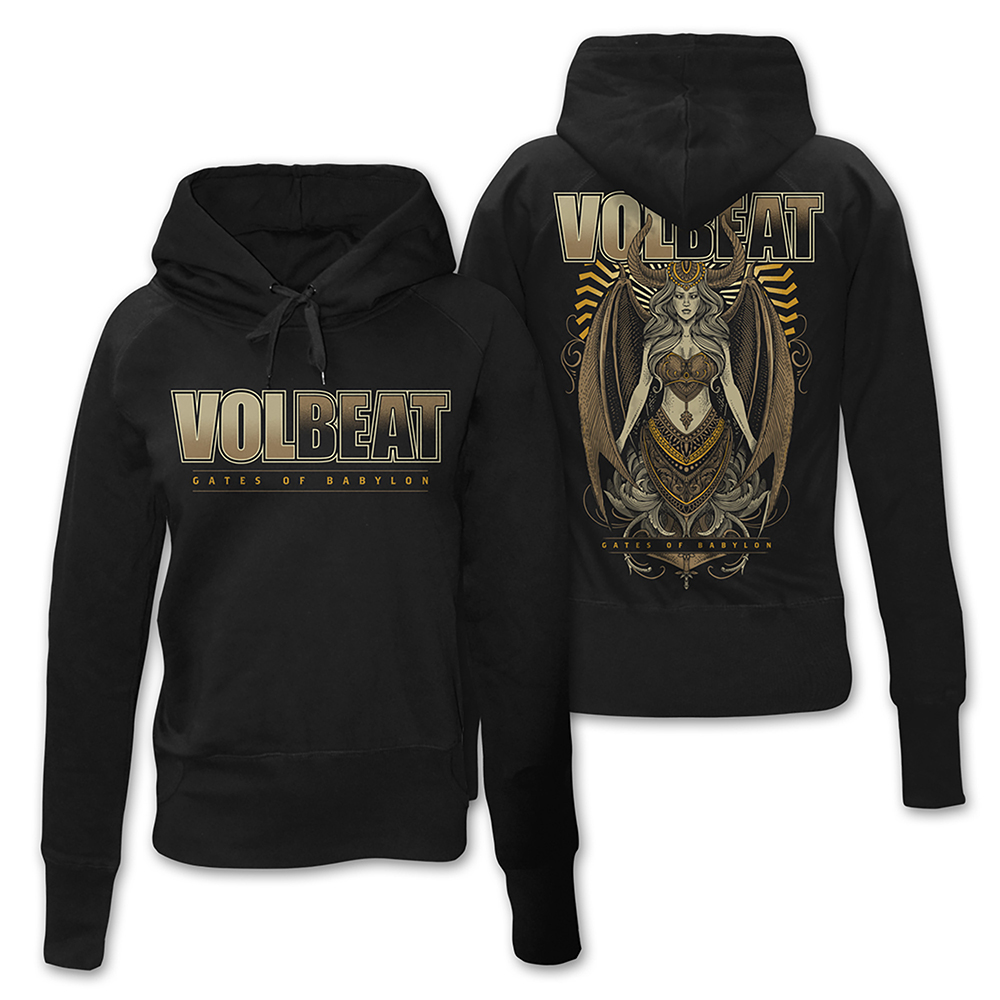 Volbeat - Babylon Goddess (Ladies Hoodie)