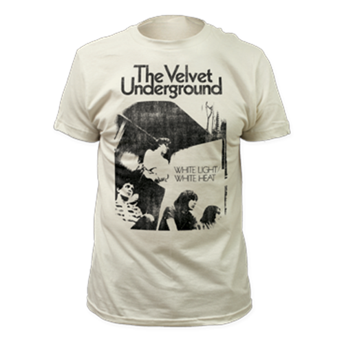 Velvet Underground - White Light/White Heat (Distressed) (Vintage White)
