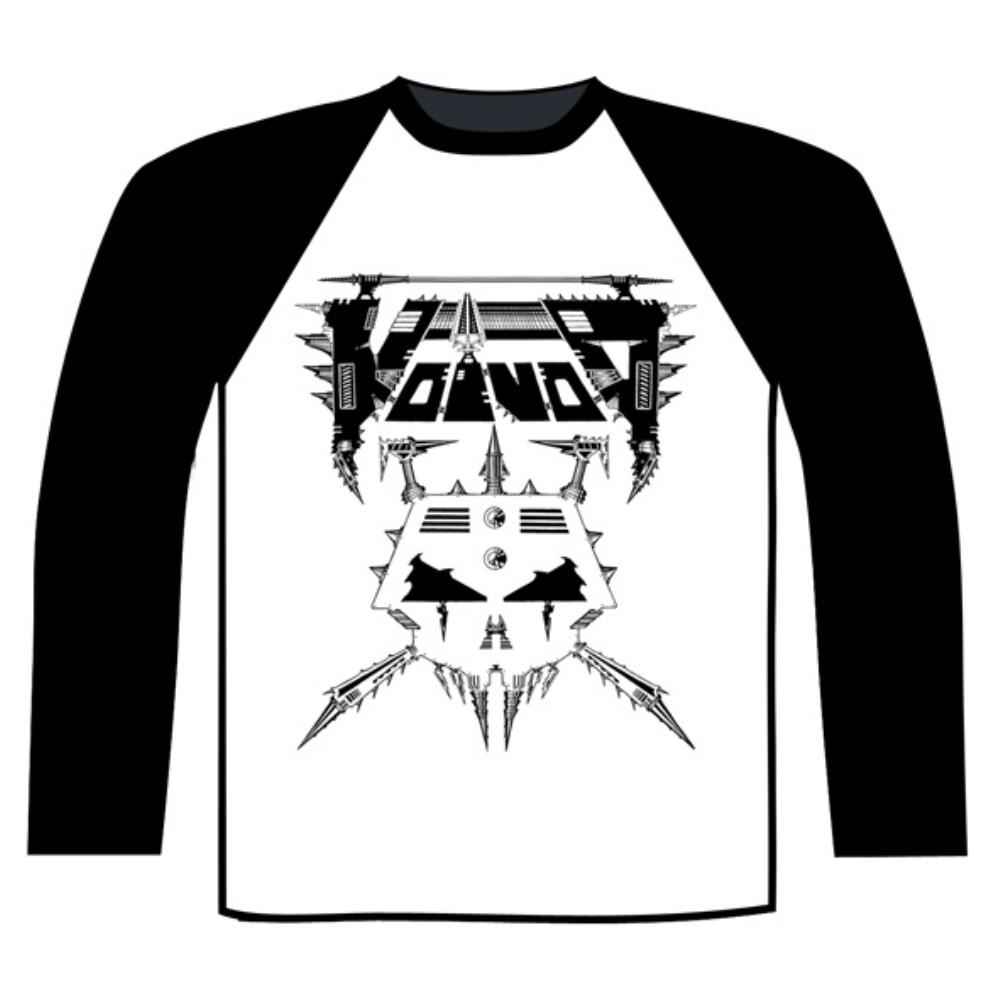 Voivod - Korgull Baseball Shirt (Black / White)