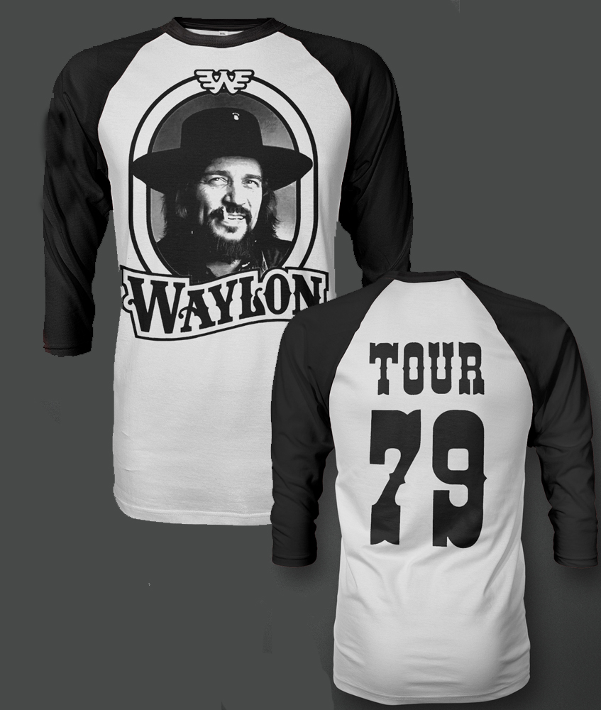 Waylon Jennings - Tour 79 (White)
