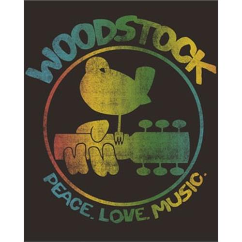 Woodstock - Colorful Logo (coal)