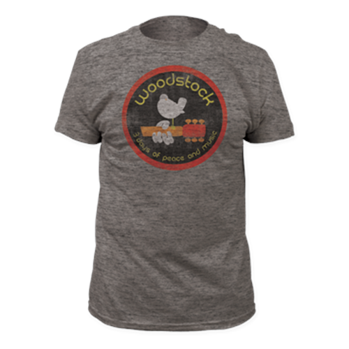 Woodstock - Logo (Heather grey)