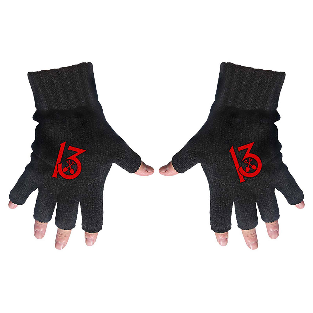 Wednesday 13 - 13 Fingerless Gloves