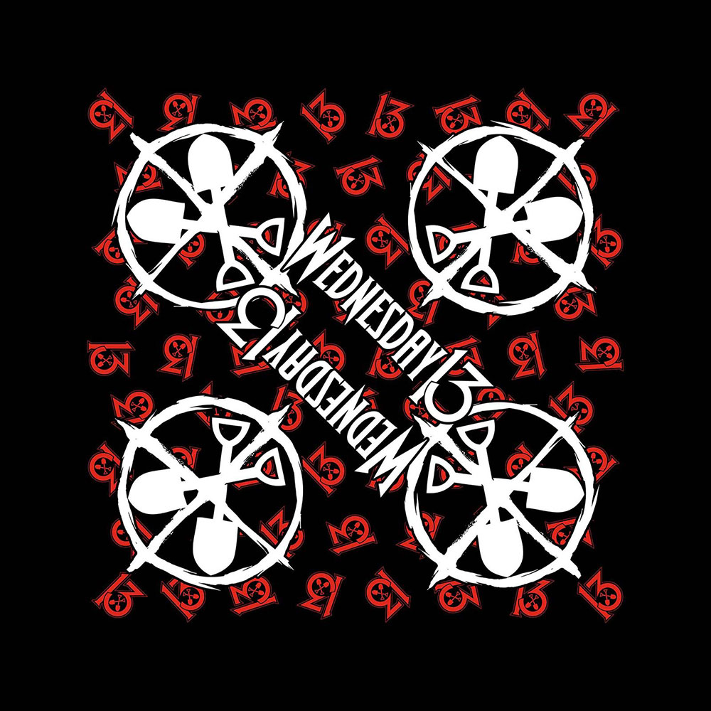 Wednesday 13 - Logo Shovels Bandana