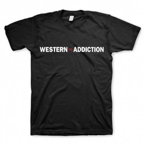 Western Addiction - Logo (Black)