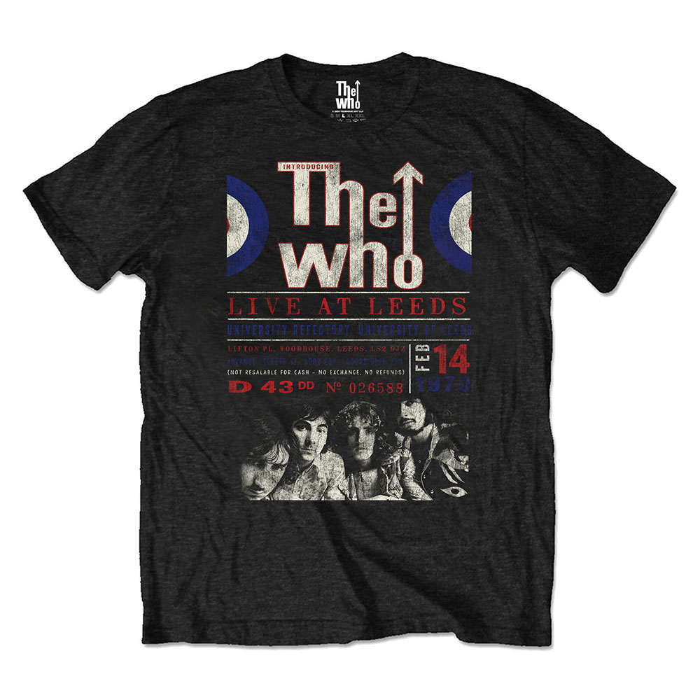 The Who - Live At Leeds '70 Eco Tee