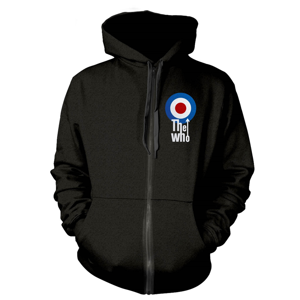 The Who - Target (Zipped Hoodie)