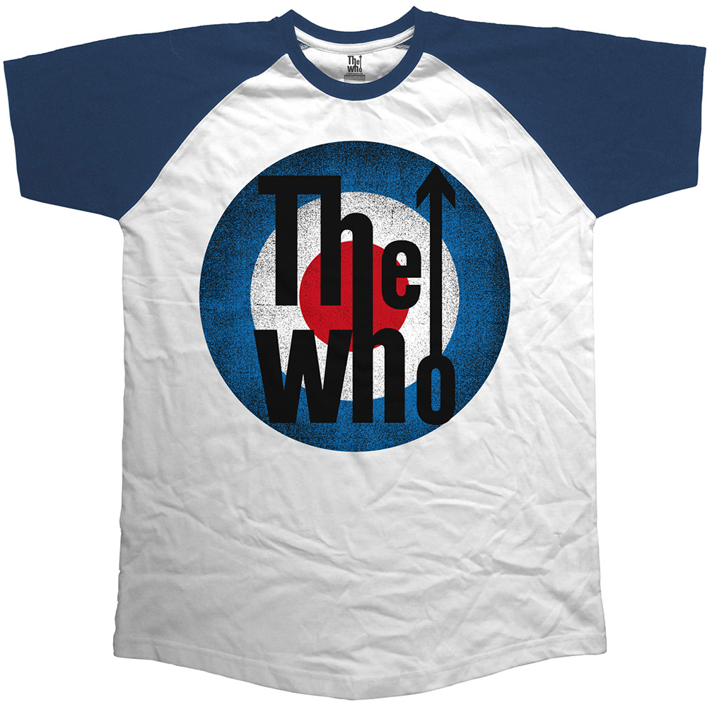 The Who - Vintage Target (White and Navy)
