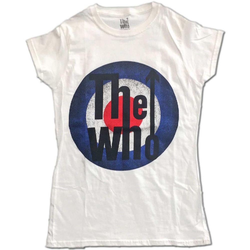 The Who - Vintage Target (White) (Ladies)