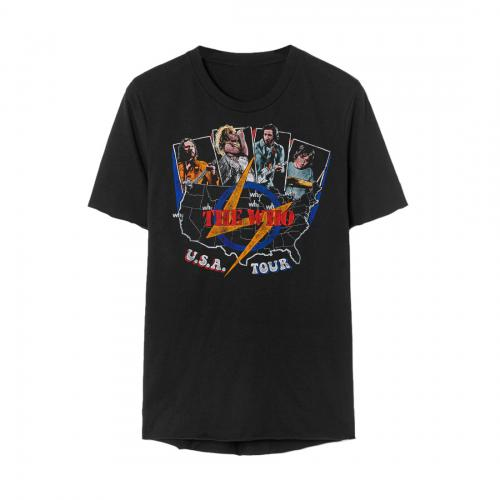 The Who - USA Tour Vintage (Black)