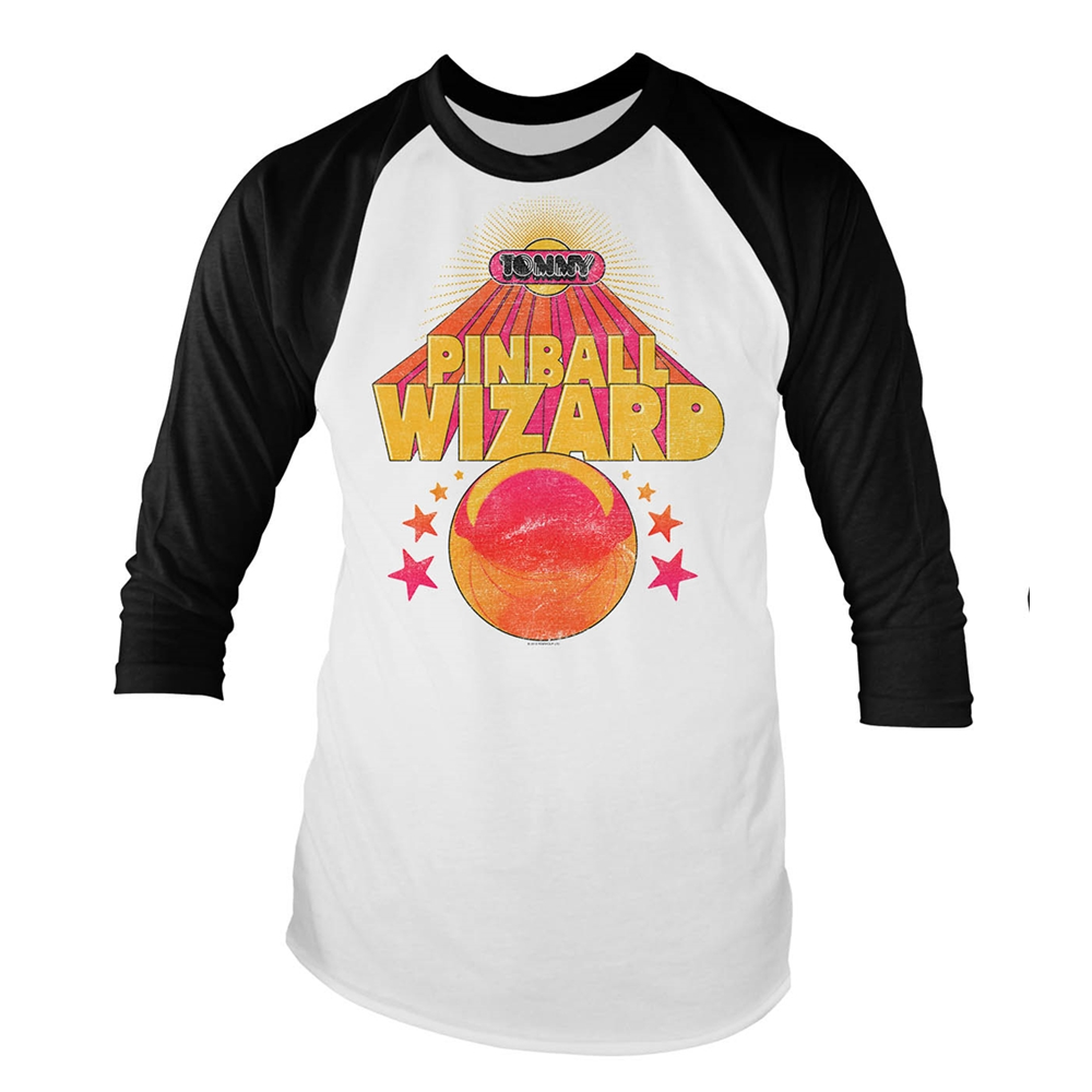 The Who - Pinball Wizard (Baseball Shirt)