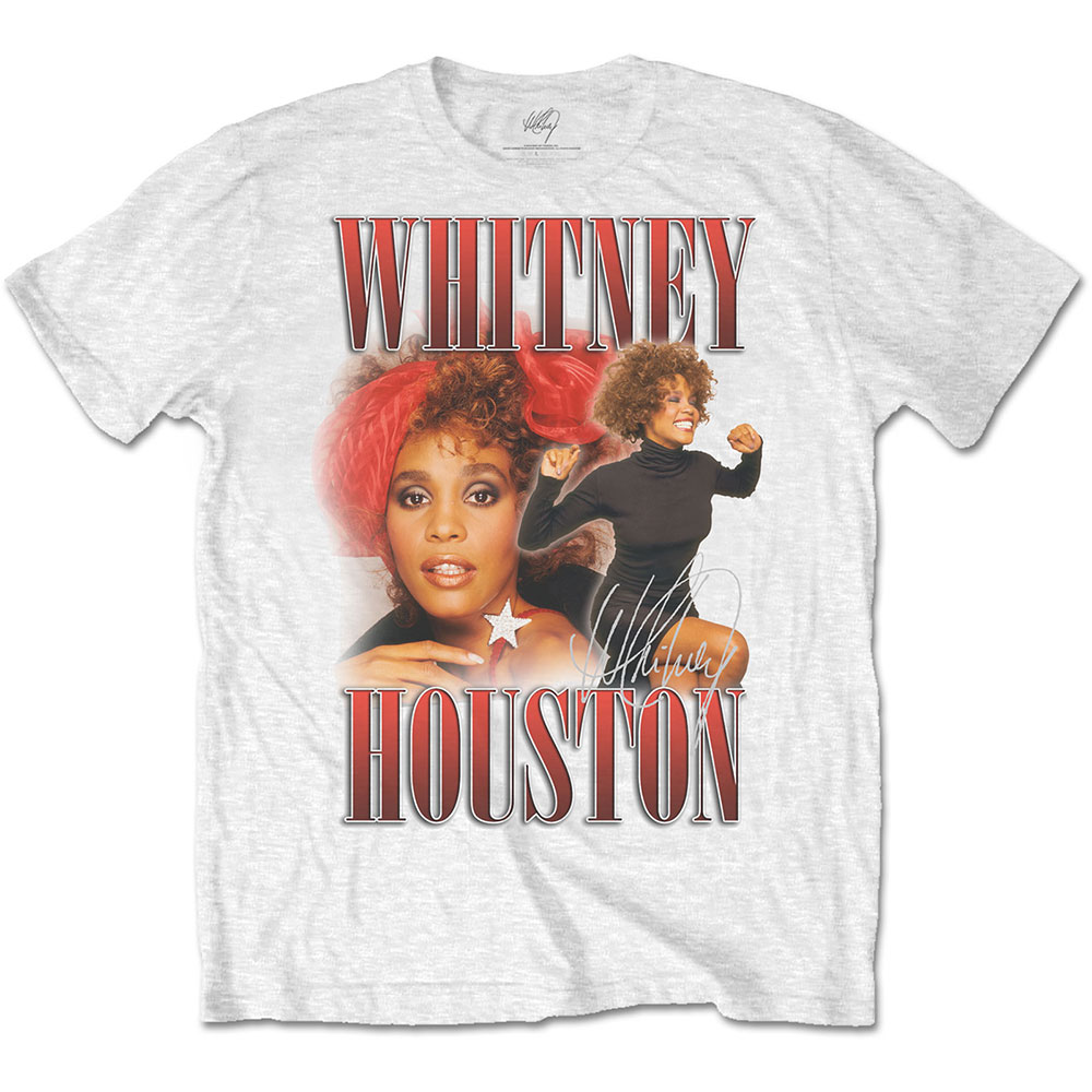 Whitney Houston - 90s Homage (White)