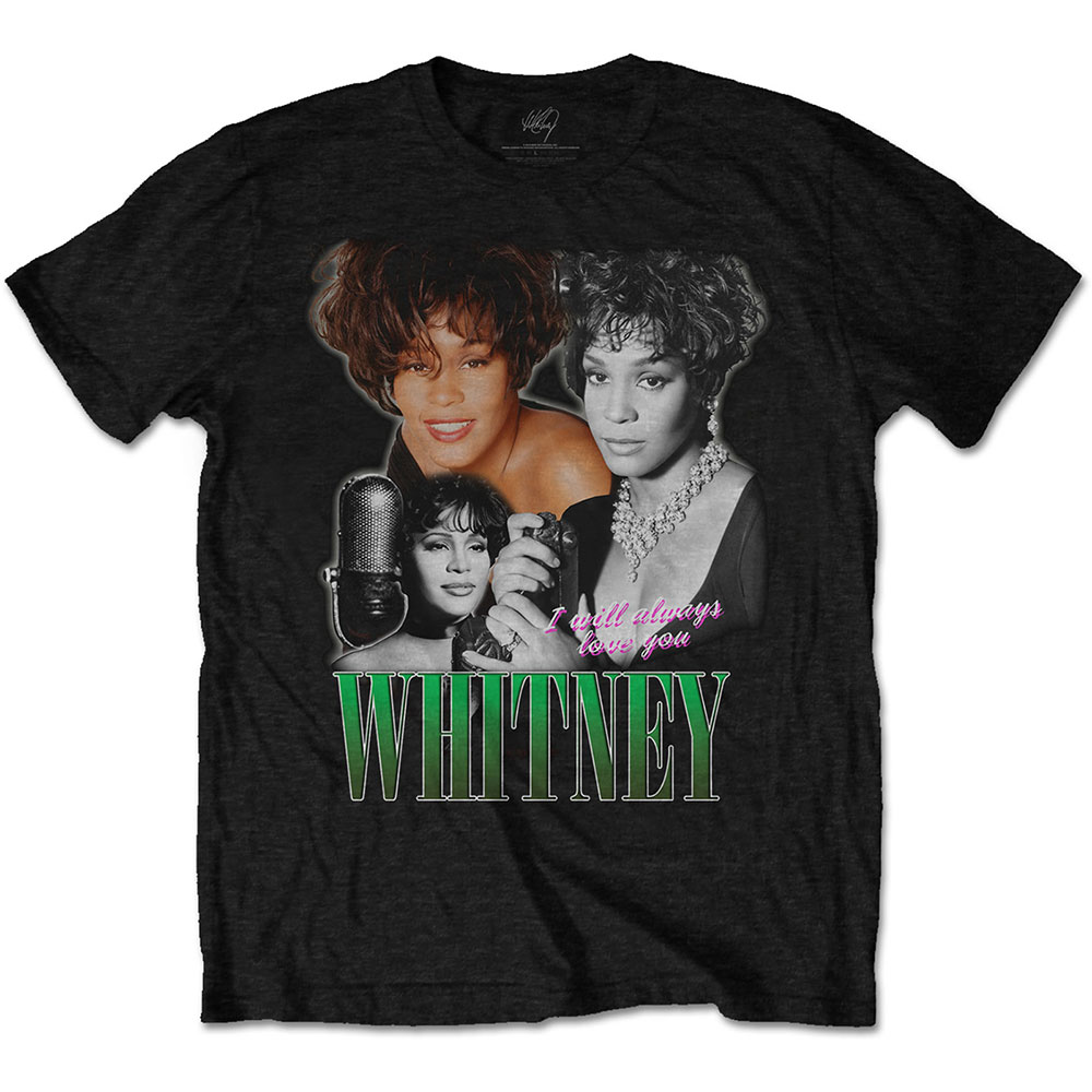 Whitney Houston - Always Love You Homage (Black)