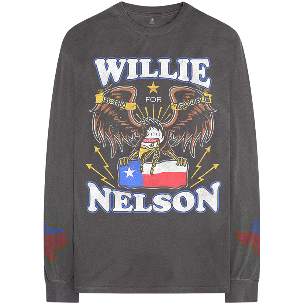Willie Nelson - Texan Pride (Arm Print)