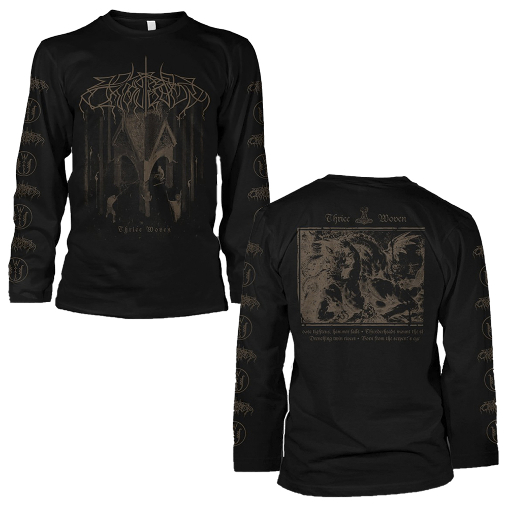 Wolves In The Throne Room - Thrice Woven Brown  (Longsleeve)