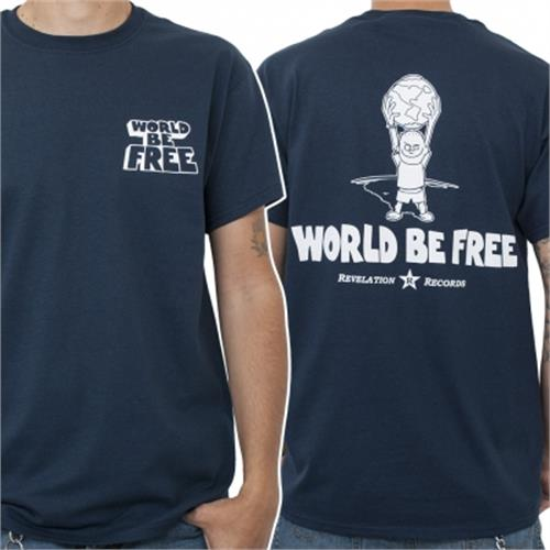 World Be Free - OG Logo (Navy)