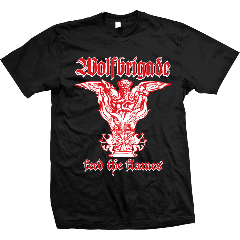 Wolfbrigade - Feed The Flames(Black)
