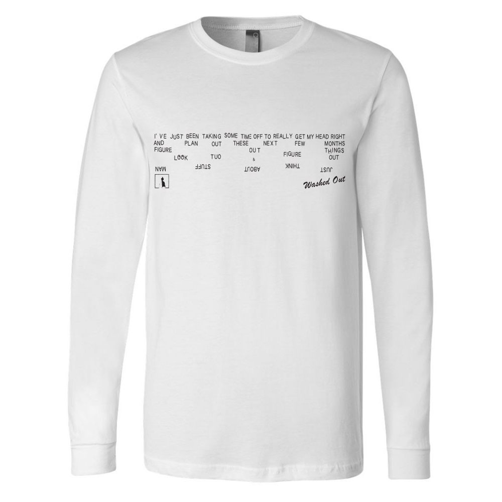 Washed Out - Just Think Longsleeve T-Shirt