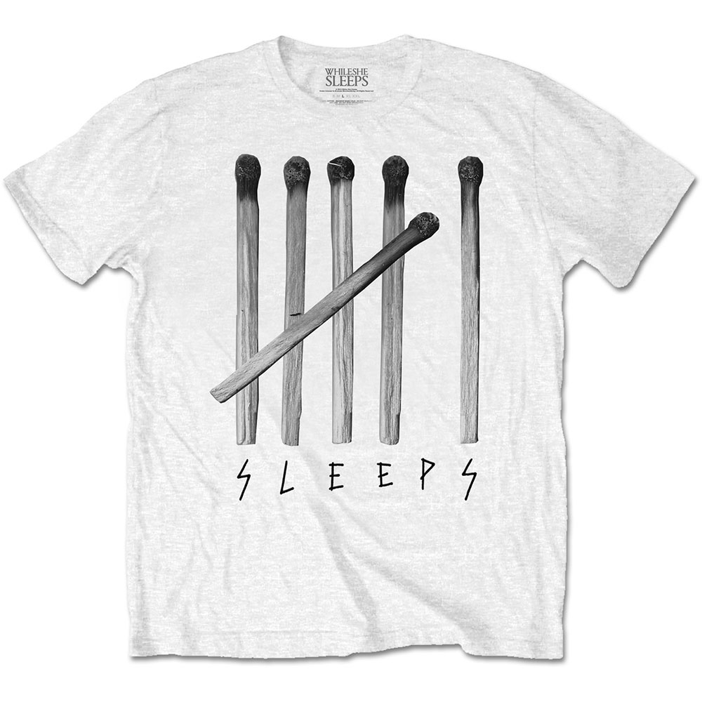 While She Sleeps - Matches (White)